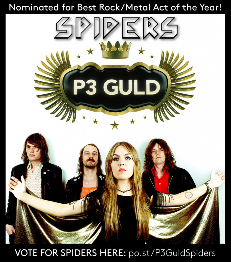 Spiders_P3Guld